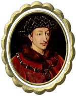 Portrait Charles VII King of France