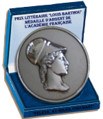 photo of the medal l'academie française