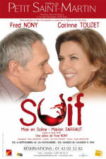 flyer of SOIF - play with Corinne Touzet, directed by Marion Sarraut